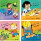 Helping Hands Board Books, Spanish/English, Set of 4