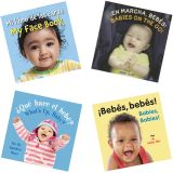 Babies on Board Books, Spanish/English, Set of 4