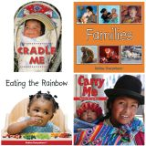Babies Everywhere™ Book Set, English, Set of 4