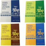 Books by Juan Sauvageau, Stories, Fables & Poems For You, Volumes 1-4. Paperback Set