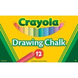 Crayola® Colored Drawing Chalk, 12 colors