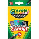 Crayola® Construction Paper™ Crayons, 16 count
