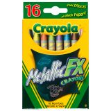 Crayola® Metallic Crayons, 16 colors