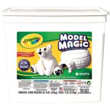 Crayola® Model Magic® Modeling Compound, 2 lb. Tub, White