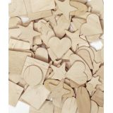 Wooden Shapes, 1,000 pieces