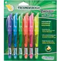 Ticonderoga® Emphasis™ Pocket Style Highlighters, 6-color set