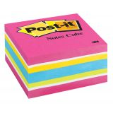 Post-it® Notes Cube, Bold Brights, 400 sheets