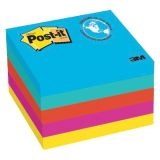 Post-it® Notes in Jaipur Colors, 3 x 3, 5 pads, 100 sheets