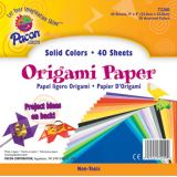 Origami Paper, 9 x 9, 40 sheets