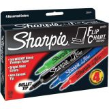 Sharpie® Flip Chart Markers, 4-color set
