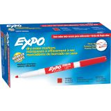 Expo® Low Odor Dry Erase Markers, Fine Tip, Red