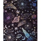 Scratch & Sparkle® Soft-Scratch® Holographic Glitter Board, 10 sheets