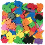 Animal Face Buttons™, 85 pieces