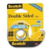 Scotch® Double Sided Tape, 3/4 x 200