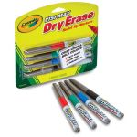 Crayola® Bullet Tip Visi-Max™ Dry Erase Markers