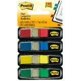 Post-It® Small Flags, Red, Blue, Green, Yellow