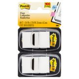Post-it® Marking Flags, Standard size, White