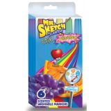 Mr. Sketch® Washable Scented Stix, 6 colors