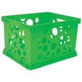 Interlocking Crate, Mini, Green