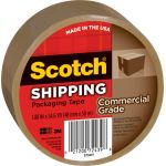 Scotch® Commercial Performance Packaging Tape, Tan, 1 roll