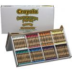 Crayola® Construction Paper™ Crayons Classpack®, Large-size