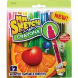 Mr. Sketch® Scented Twistable Crayons, Set of 12