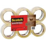 Scotch® Commercial Performance Packaging Tape, Clear, 6 pack