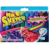 Mr. Sketch® Scented Washable Markers, 10 colors