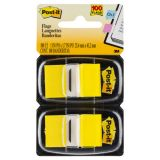 Post-it® Marking Flags, Standard size, Yellow