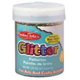 Art Glitter, 3/4 oz. Jar, Multicolor
