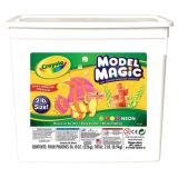 Crayola® Model Magic® Modeling Compound, 2 lb. Tub, Neon