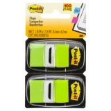 Post-it® Marking Flags, Standard size, Bright Green
