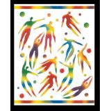 Rainbow White® Scratch-Art® Paper, 50 sheets