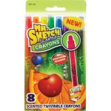 Mr. Sketch® Scented Twistable Crayons, Set of 8