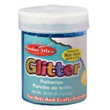 Art Glitter, 3/4 oz. Jar, Blue