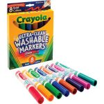 Crayola® Washable Broad-Line Markers, Bold Colors