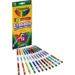 Crayola® Erasable Colored Pencils, 12 colors