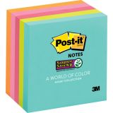 Post-It® Super Sticky Notes, 3 x 3, Miami, 5 pads