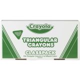 Crayola® Triangular Anti-Roll Crayons, 256 count