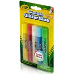 Crayola® Washable Glitter Glue, 5 tubes, Super Sparkle