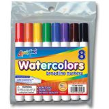 Liqui-Mark® Economical Watercolor Markers, 8 color set