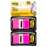 Post-it® Marking Flags, Standard size, Bright Pink