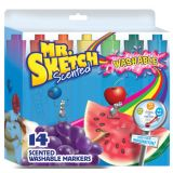 Mr. Sketch® Scented Washable Markers, 14 colors