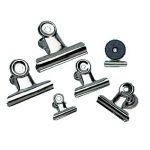 Magnetic Spring Clips, 1 1/4