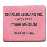 Charles Leonard® Block Erasers, Medium, Box of 50