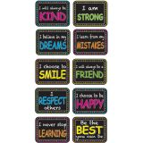 CHARACTER BUILDING MINI WB ERASERS NONMAGNETIC