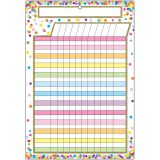 (10 EA) SMART CONFETTI INCENTIVE CHART DRY-ERASE SURFACE