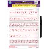 DNEALIAN MANUSCRIPT WRITE-ON WIPE-OFF BOARD 9 X 12