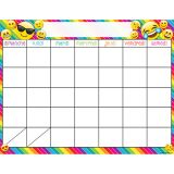 (6 EA) FRENCH CALENDAR DRY ERASE GLOSSY 45 SMART CHART SURFACE