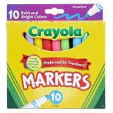 10CT BOLD & BRIGHT MARKERS BROAD LINE